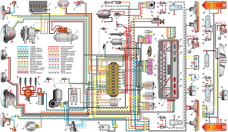 Система зажигания ока схема фото 659