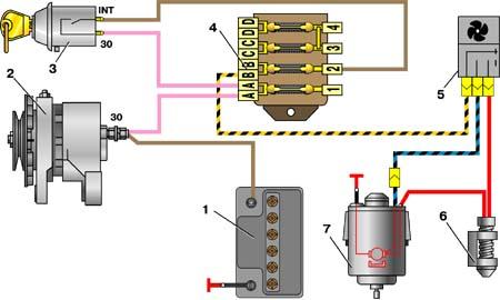 11.5.1 Электродвигатель отопителя