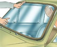 12.7.1 Остекление кузова и омыватель ветрового стекла