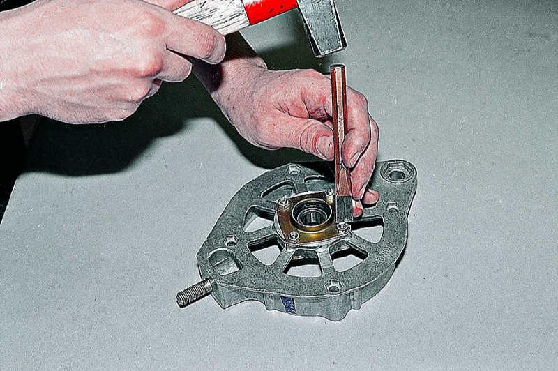 Ваз 2110 ремонт генератора своими руками