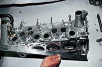3.9 Разборка головки блока цилиндров, притирка клапанов ВАЗ 2106
