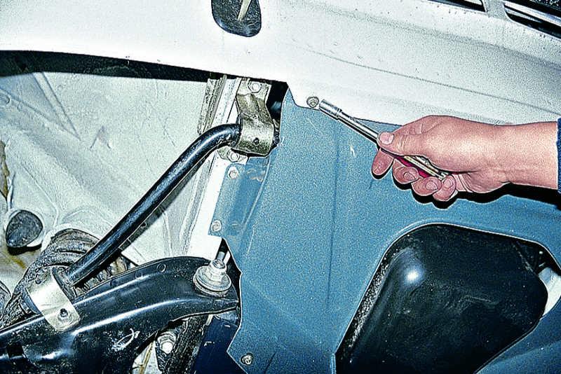 Как заменить штанги на ваз 2107