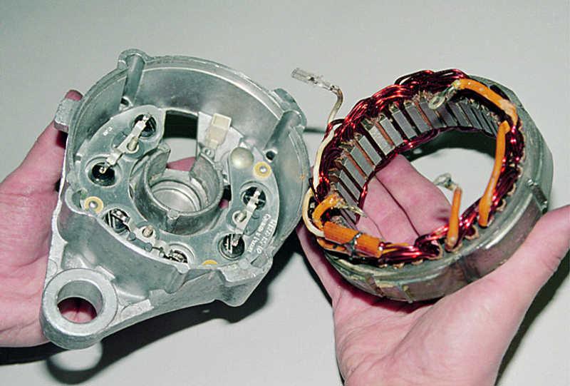 Фото №14 - генератор от ВАЗ 2110 на ВАЗ 2107