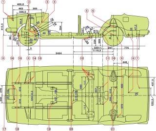 16.1 Разборка системы отопления и вентиляции ВАЗ 2107