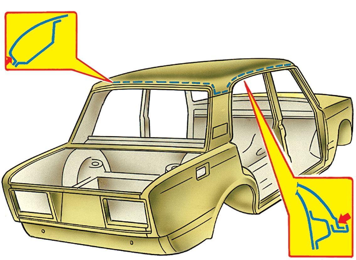 Ремонт авто ваз 2107