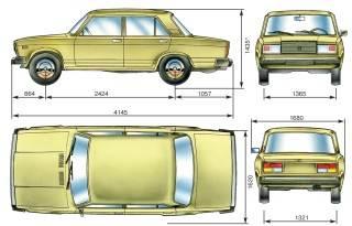 2.1 Техническая характеристика автомобилей