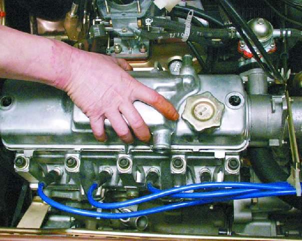 Фото №15 - кидает масло в воздушный фильтр ВАЗ 2110