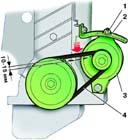 3.7 Проверка и регулировка ремня привода генератора