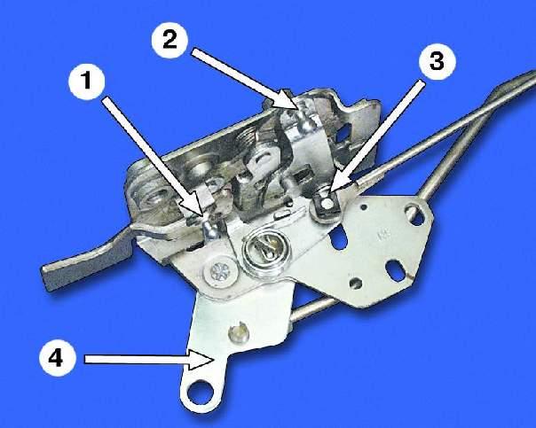 Фото №15 - механизм открывания двери ВАЗ 2110