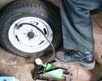 5.6 Прокол колеса ВАЗ 21099