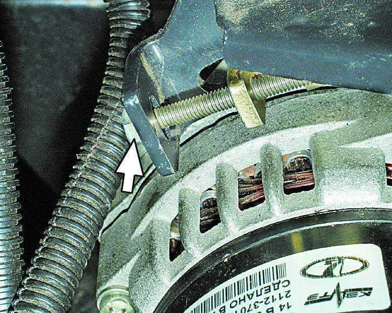 Фото №33 - свистит ремень генератора ВАЗ 2110