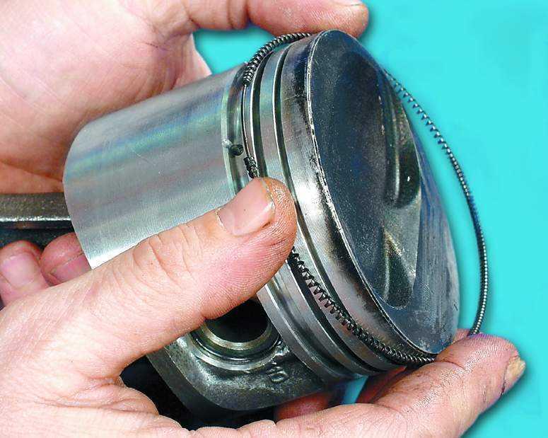 Замена колец ваз 2110 своими руками