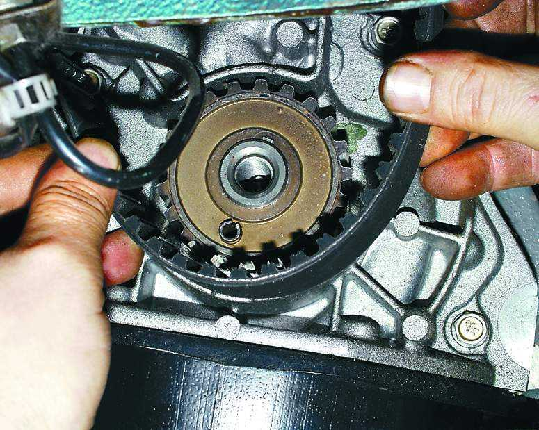 Замена ремня грм ваз 2110 8 клапанов инжектор