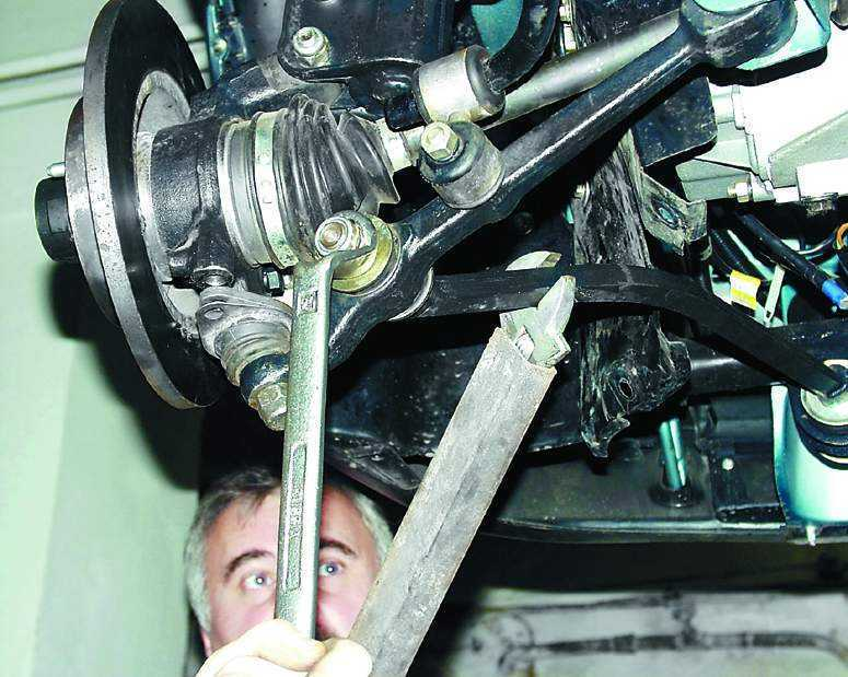 Фото №7 - замена ходовой на ВАЗ 2110