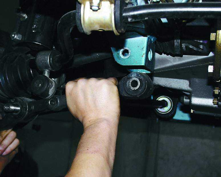 Замена рычага передней подвески ваз 2115 своими руками 62
