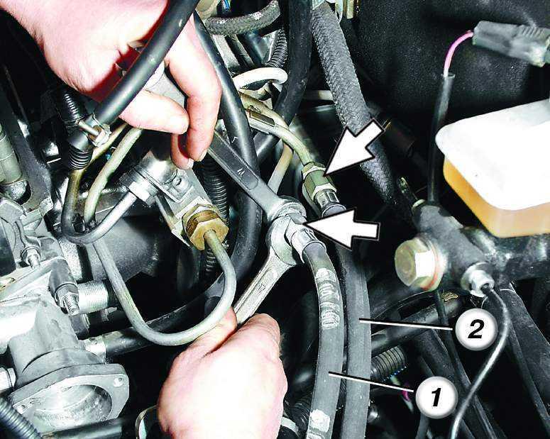 Замена топливных трубок ваз 2110 инжектор