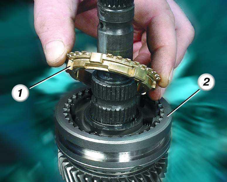 Замена синхронизаторов кпп ваз 2110 своими руками