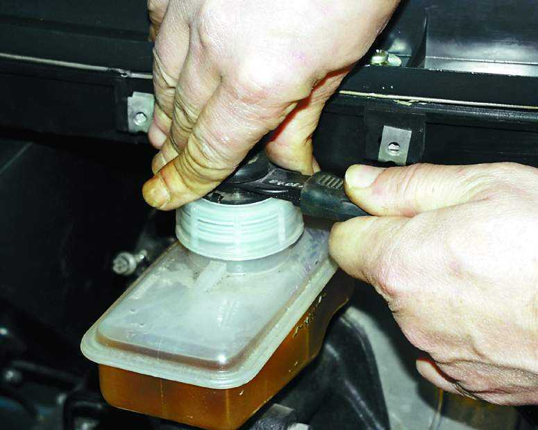 Фото №19 - ремонт главного тормозного цилиндра ВАЗ 2110