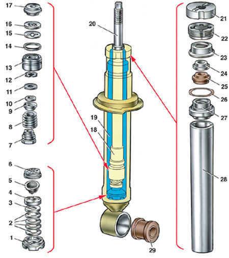 1 – корпус клапана сжатия;