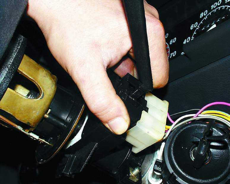 Замена подрулевого переключателя в ваз 2110 своими руками