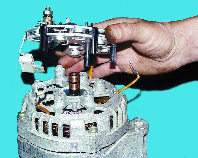Ремонт бытового генератора своими руками 74