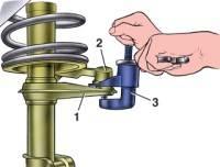 4.1.6 Снятие и установка передней подвески ВАЗ 2115
