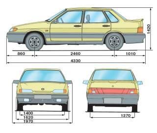 1.1 Технические характеристики автомобилей