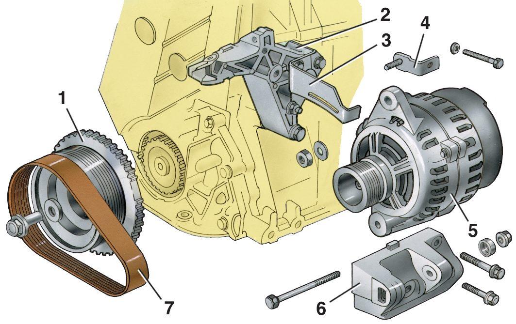 Фото №2 - размеры щётки генератора ВАЗ 2110