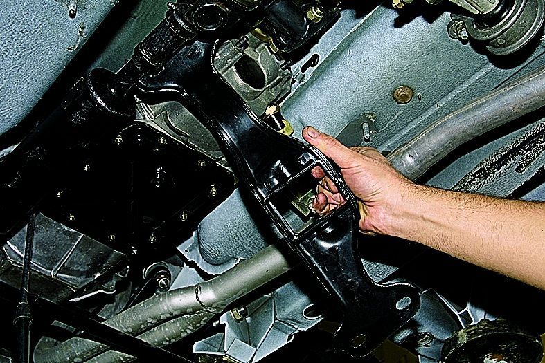 Замена двигателя на ниве своими руками