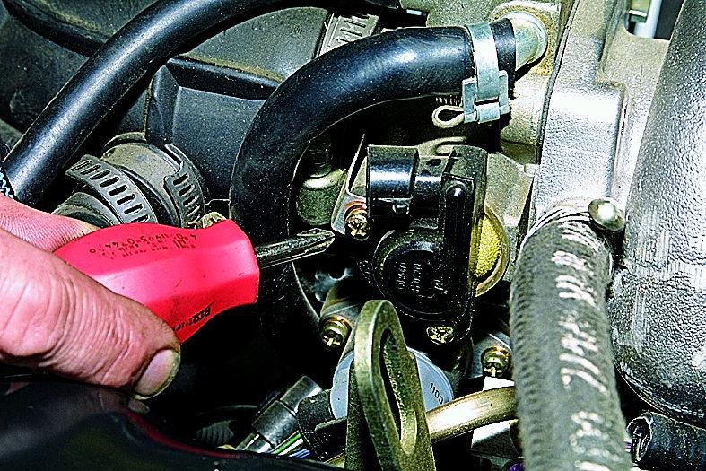 Фото №35 - установка датчика дроссельной заслонки ВАЗ 2110