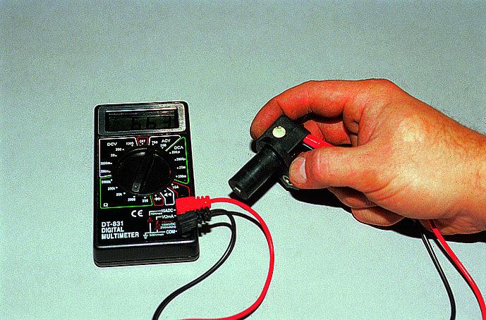 Фото №13 - как проверить мультиметром рхх ВАЗ 2110