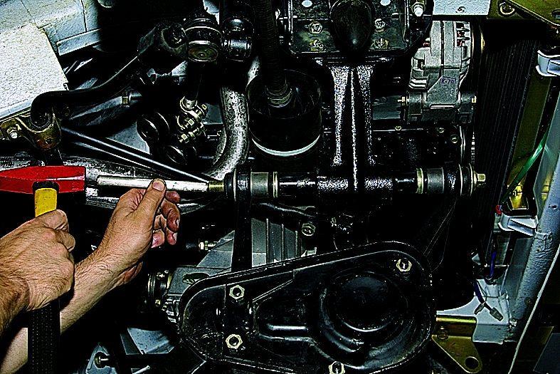Ремонт передней подвески ваз 21213 своими руками