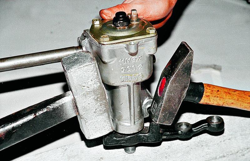 Ремонт рулевого редуктора ваз 2121 своими руками 20