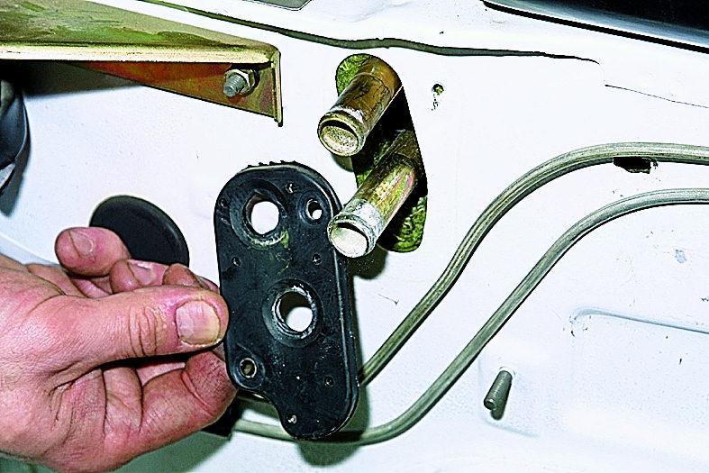 нива шевроле замена крана отопителя фото