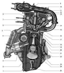 5.1 Особенности конструкции ВАЗ 2170