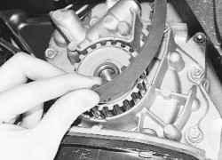 5.8 Замена ремня привода газораспределительного механизма и натяжного ролика ВАЗ 2170