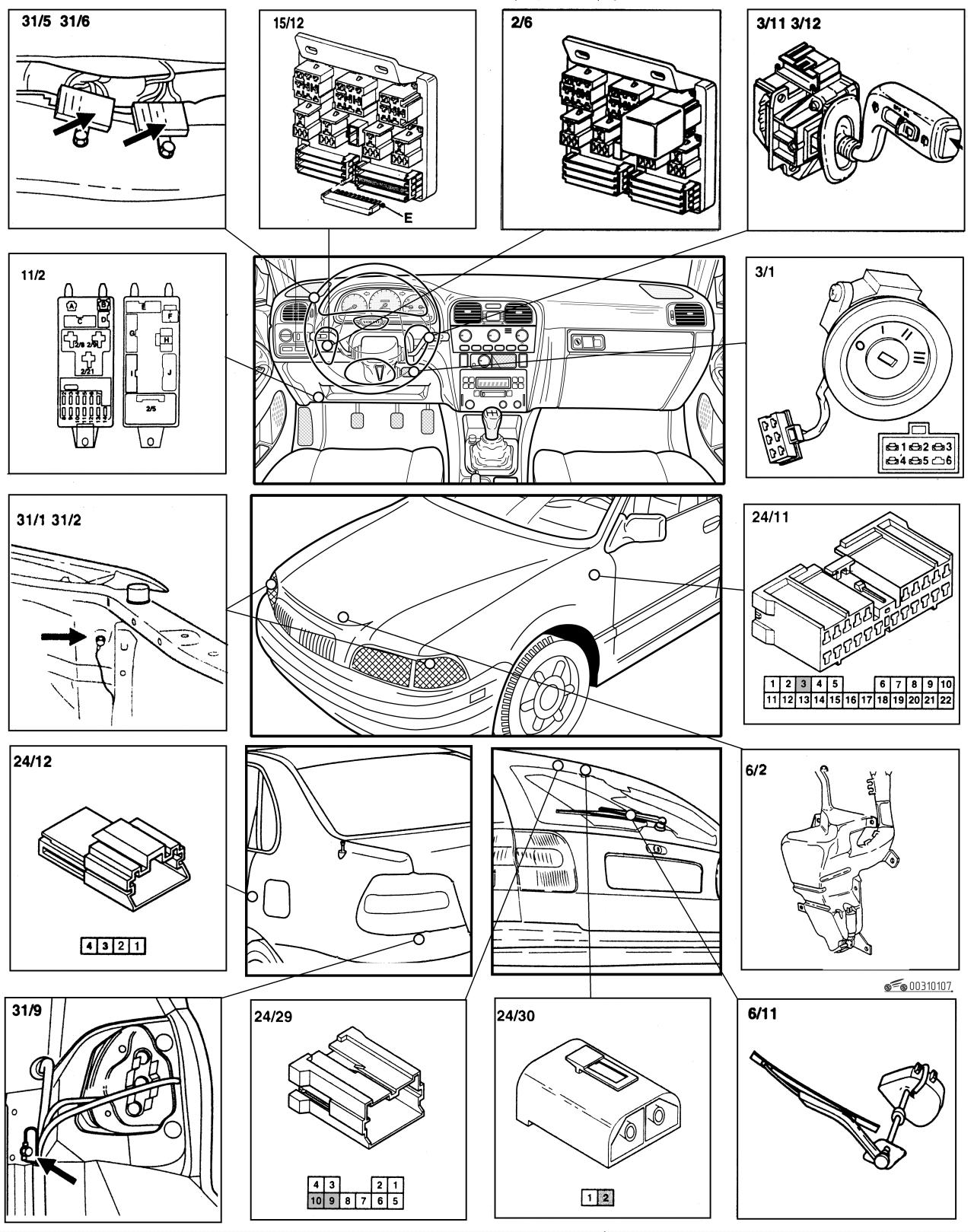 volvo s40 схема генератора