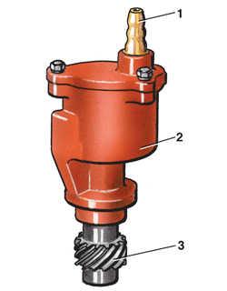 10.4 Вакуумный насос (модели с дизельным двигателем)