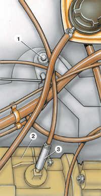 2.1 Снятие и установка двигателя