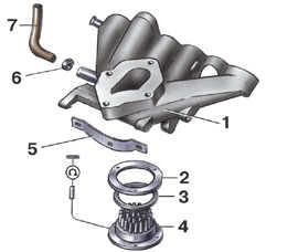 3.1.12.5 Регулировка карбюратора Pierburg/ Solex 2Е2 Volkswagen Golf II