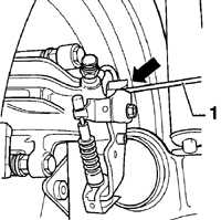 12.7 Регулировка ручного тормоза Volkswagen Golf IV