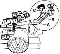 13.6 Снятие и установка переднего бампера Volkswagen Golf IV