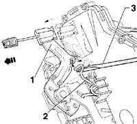 13.15.11 Снятие и установка замка двери Volkswagen Golf IV