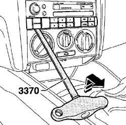 6.6 Снятие и установка блока управления отопителем
