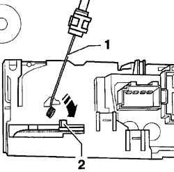 6.6 Снятие и установка блока управления отопителем Volkswagen Golf IV