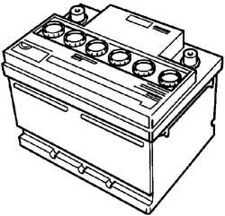 14.5.6 Замечания, касающиеся аккумулятора с вентиляционными заглушками