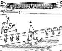 14.9 Снятие и установка дополнительного сигнала торможения