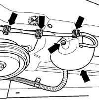 5.2 Снятие и установка выхлопной системы Volkswagen Golf IV