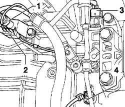 8.2 Снятие и установка автоматической коробки передач