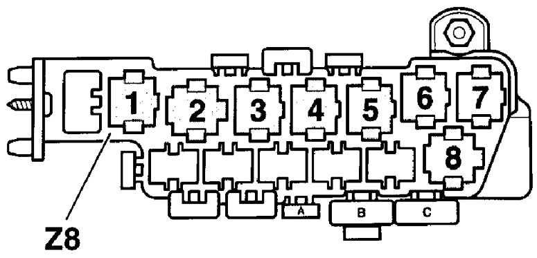неисправности реле бензонасоса на фольксваген в5